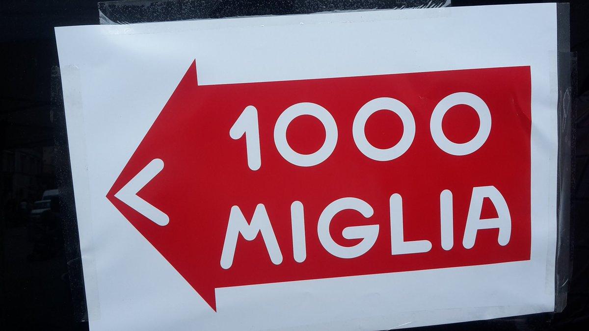 #MilleMiglia