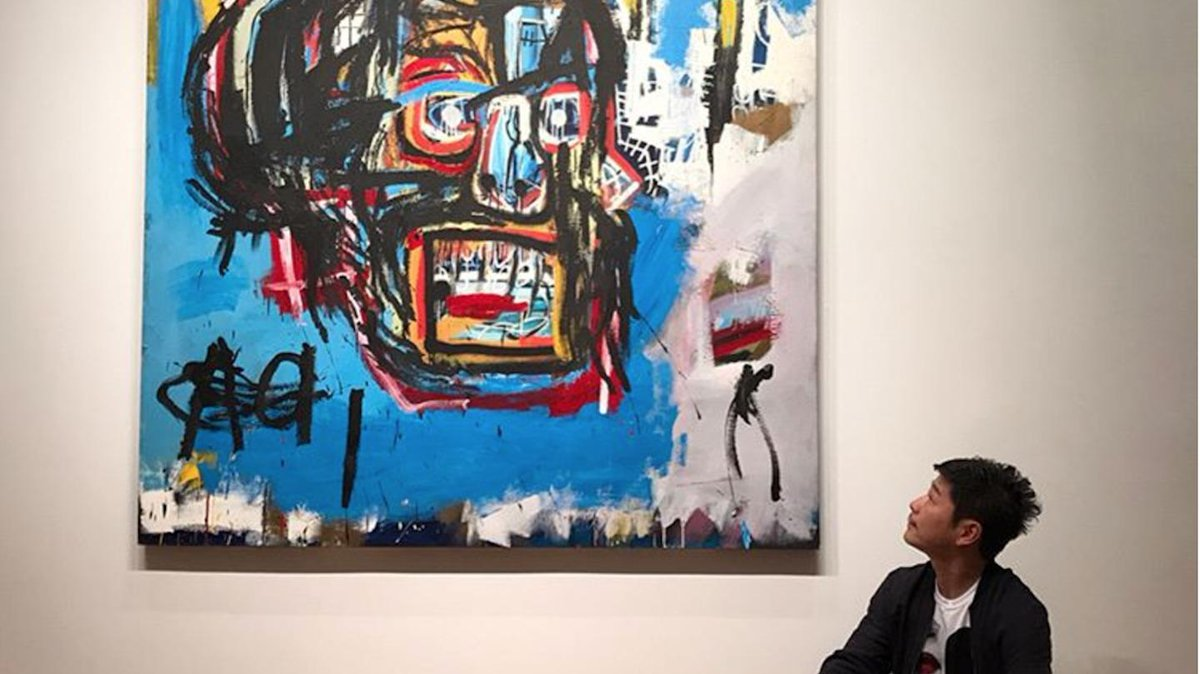 Basquiat painting sells for record-breaking $110 million: https://t.co/hAzQgrSgiT https://t.co/xoUSdDDJvi