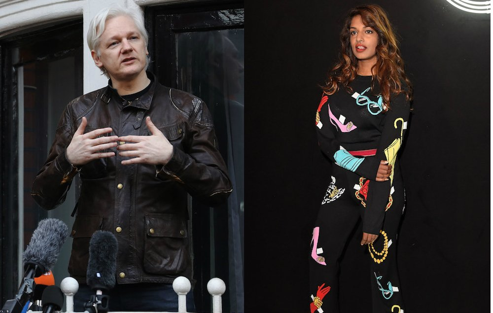 M.I.A. says society should 'thank' Julian Assange following rape case being dropped https://t.co/ogKc0OxSXN https://t.co/2yoA5FHtpy