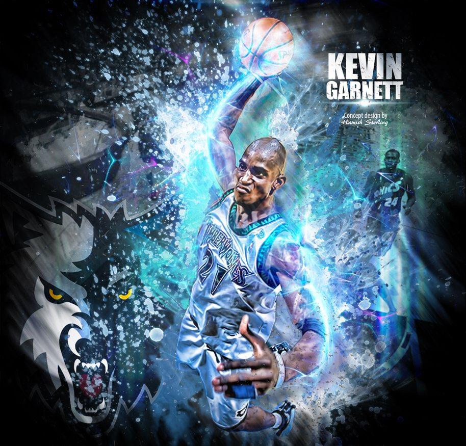 Happy Birthday Kevin Garnett aka KG aka Big Ticket aka Da Kid