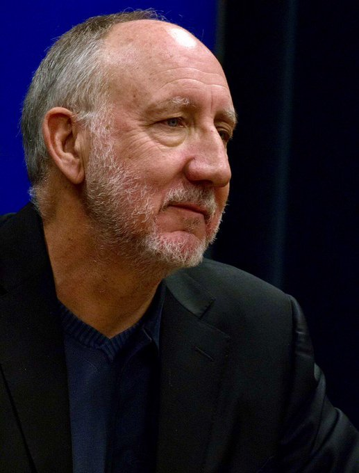 Happy Birthday to Pete Townshend.