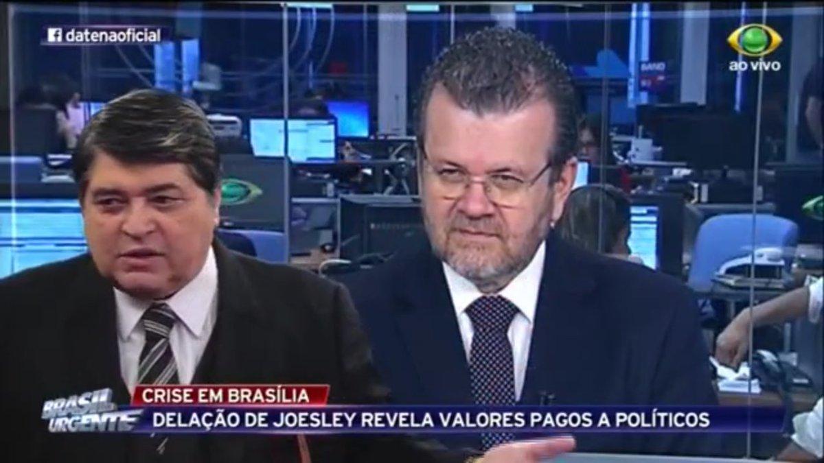 #BrasilUrgente