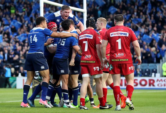 A massive 40 minutes ahead for the Boys in Blue, c'mon @leinsterrugby! #LEINvSCA https://t.co/4972V09pYh
