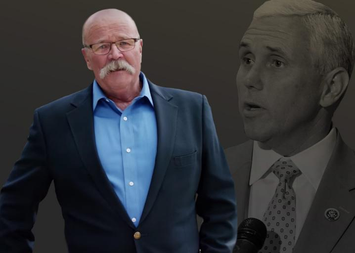 Mike Pence's chief political adversary is certain Trump makes the vice president cringe: https://t.co/Lqk1ll3Obb https://t.co/xiCJ4ZNcYu