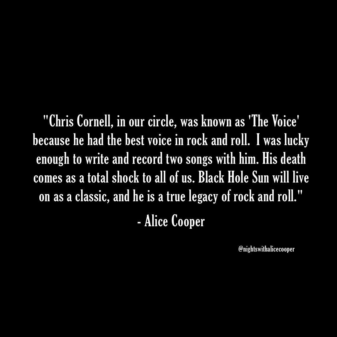 #RIPChrisCornell