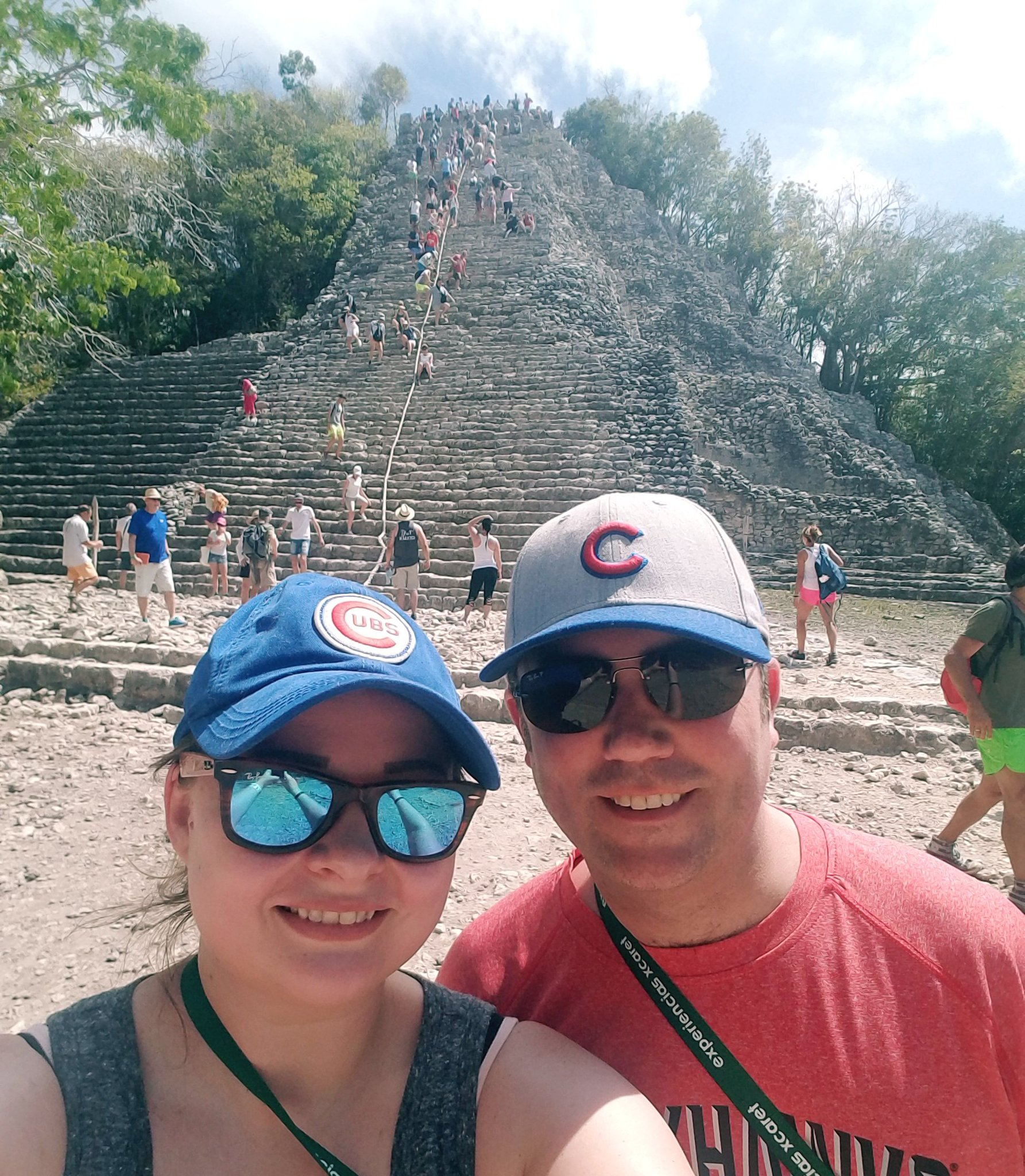 We repped the @Cubs all the way in Cobá, Mexico! https://t.co/QpS0Xi0ij3