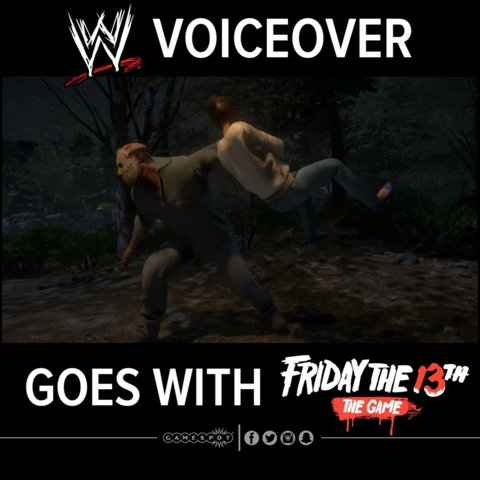.@Friday13thGame's Jason can totally pass as a WWE wrestler (Turn on 🔊)