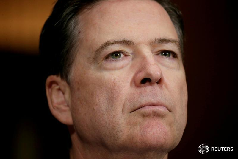 JUST IN: Ex-FBI chief Comey to testify to Senate panel in public session. https://t.co/YusjPRwUDK https://t.co/zaswRpmy4l