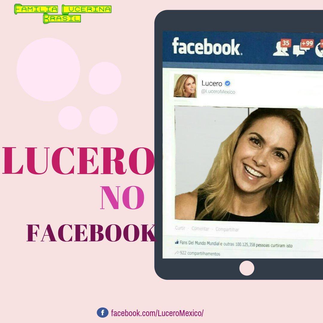 LUCERO NO FACEBOOK