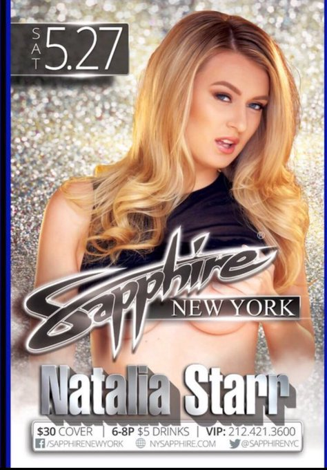 I'll be in NYC on Saturday may 27 at @SapphireNYC come party with me ! https://t.co/nQGqX7pFFL