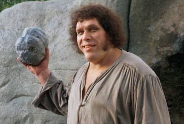 "Happy birthday Andre The  Giant - ""Sleep well & dream of large women!\"" (RIP)"