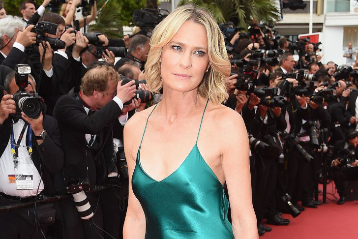 Robin wright's talks the star's #cannes2017 fashion ...