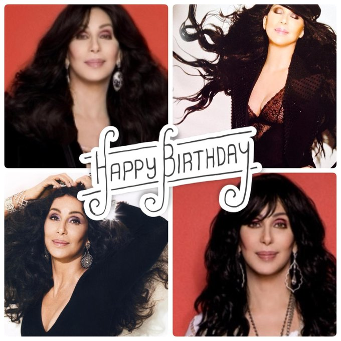 Happy Birthday to the legendary, Cher.  Help us wish her the very best today :)