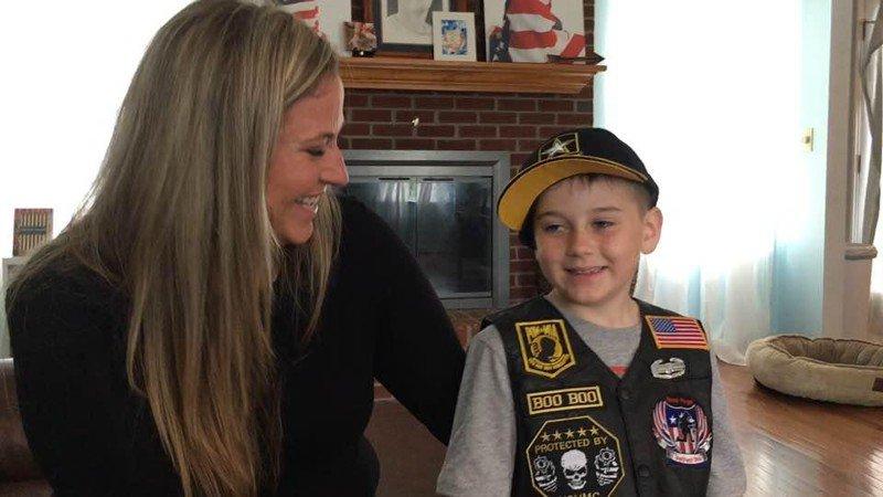 300 veterans celebrate birthday of Hamilton boy whose dad died in Iraq