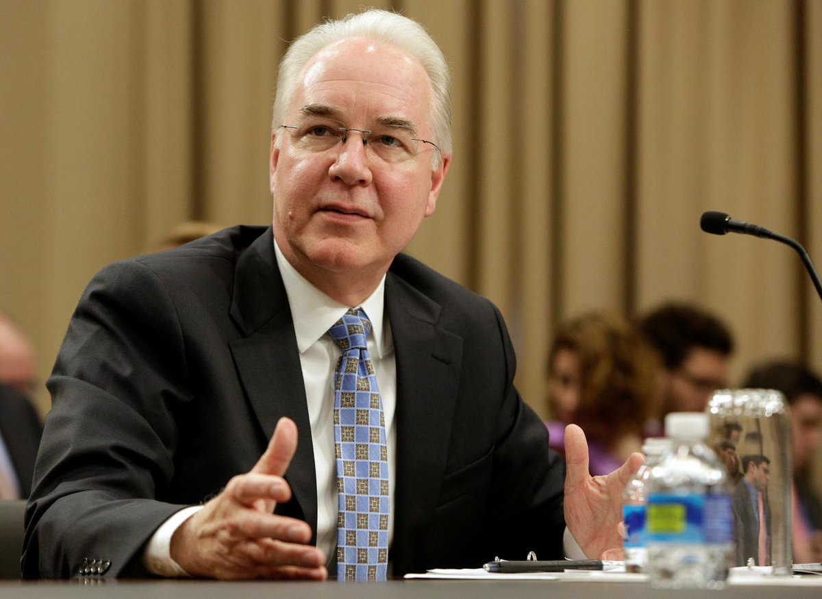 Ebola is just one of the reasons why Trump's health secretary is in Liberia