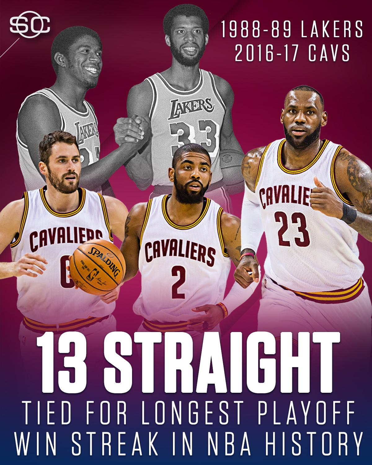 The Cavs are one win away from history. https://t.co/ilWbvE0CFE