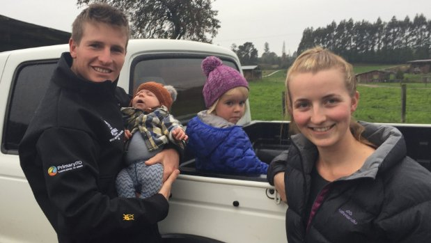 Dairying offers career path and family lifestyle to young farmers