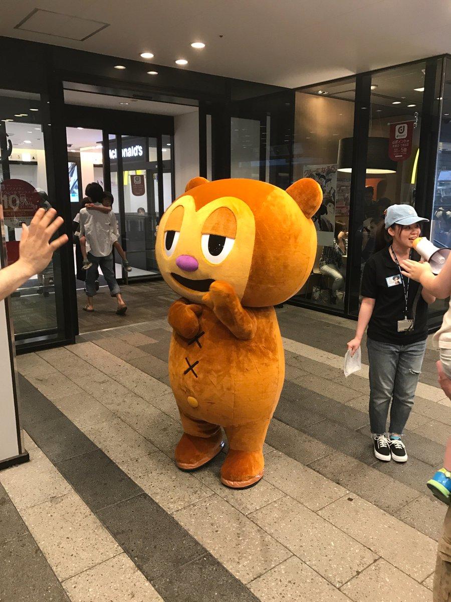 東京スカイツリーにて開催中の「パラッパラッパー アニバーサリーカフェ」!PJベリー本日1回目の登場です!#パラッパ20t
