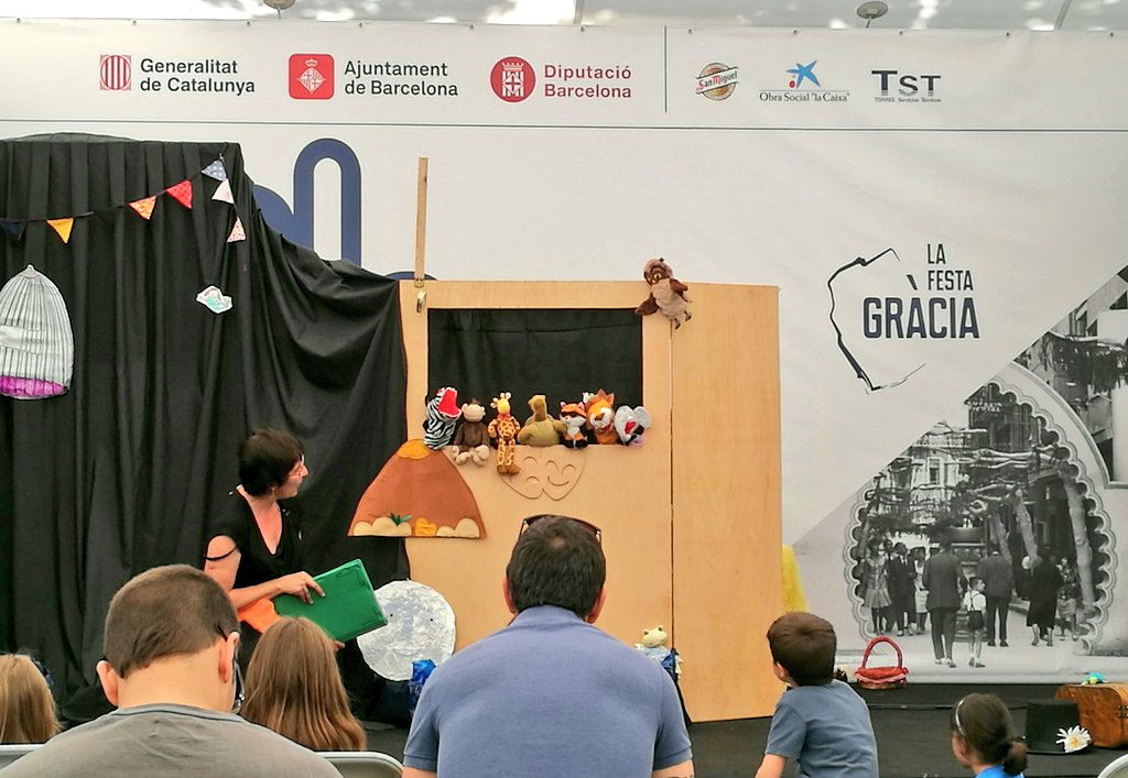 test Twitter Media - 🎪🎭 Matí de titelles a l'envelat de #Gràcia #FMGràcia #200festagràcia https://t.co/XhVjwkG23p