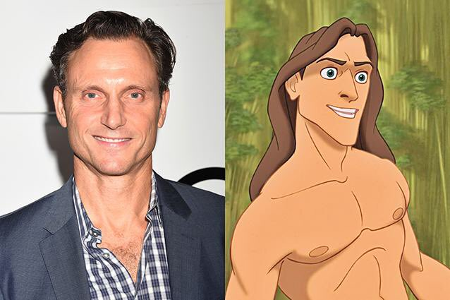 Happy 57th Birthday to Tony Goldwyn! The voice of Tarzan.