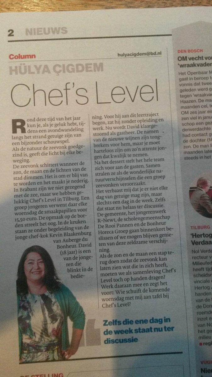 RT @chefs_level: Wie komt woensdag gezelllig mee eten met Hülya Cigdem ? @ContourdeTwern @aubergebonheur @r-newt