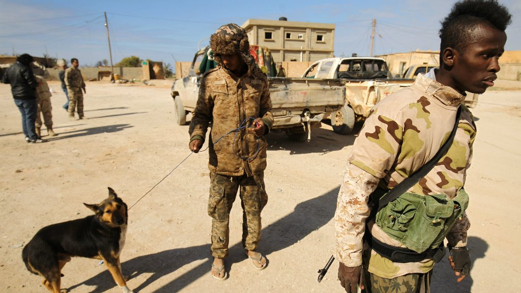 More than 100 killed in attack on southern Libya airbase