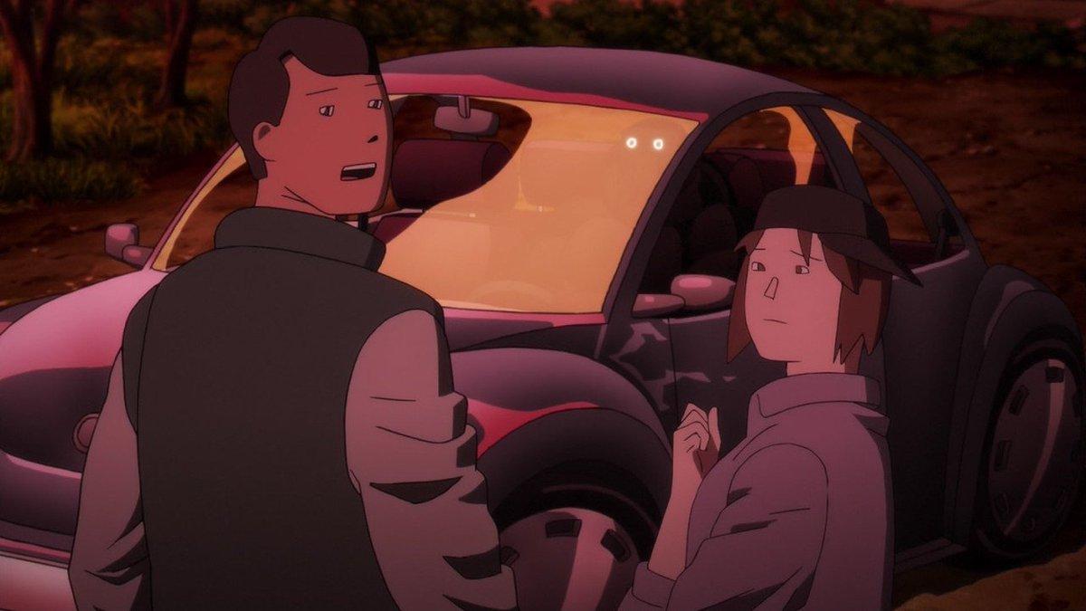 今更ながら移動中の暇潰しにテラフォーマーズ リベンジ見たんやけど、最終話のこの作画最高すぎるやろwwwアメリカのアニメか