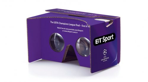 BT Sport Google Cardboard VR glasses for free! BTSport VR Freebie