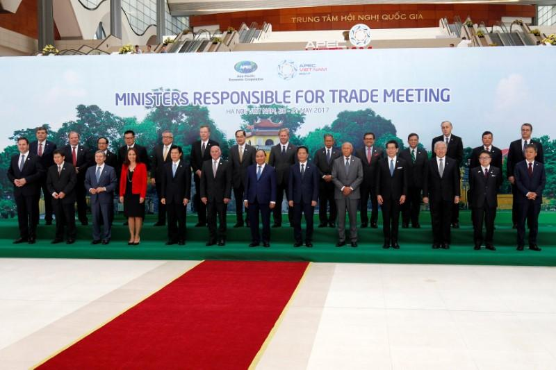 Asia-Pacific meeting puts Trump's trade turmoil center stage