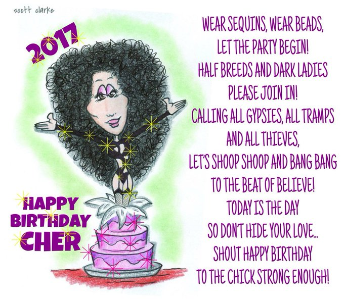 HAPPY BIRTHDAY CHER!!