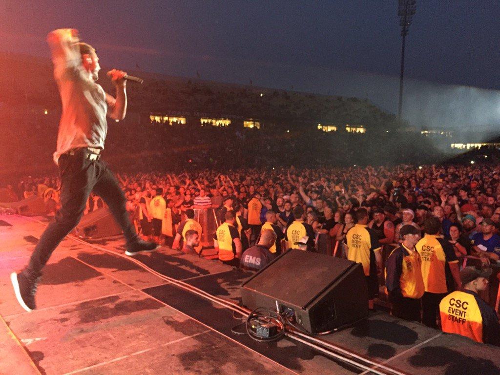 Now that was a rock show.  Thankyou Columbus Ohio. ❤️ https://t.co/Pr92BHKmsI