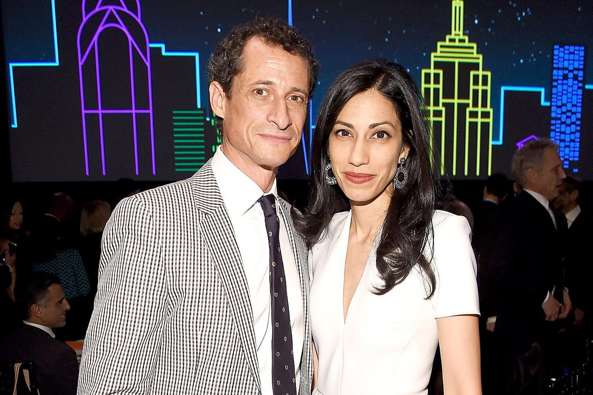 Huma Abedin files for divorce from Anthony Weiner as he pleads guilty in sexting case