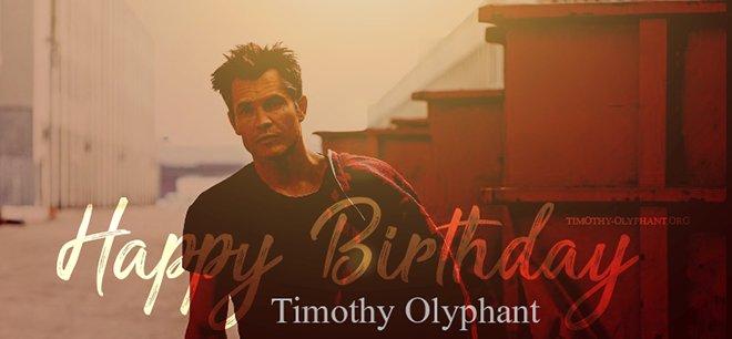 Happy Birthday Timothy Olyphant!