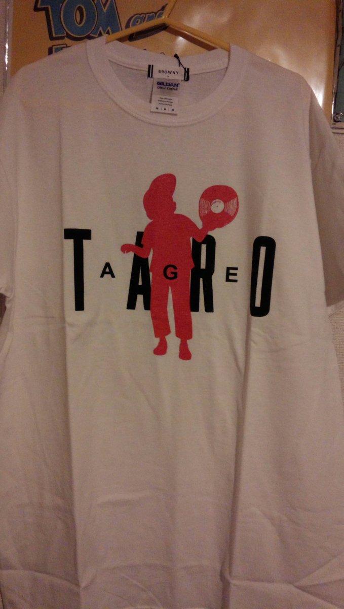 アゲ太郎のTシャツもろた…