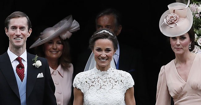 We CANNOT get over Kate Middleton's look at sister Pippa's wedding...