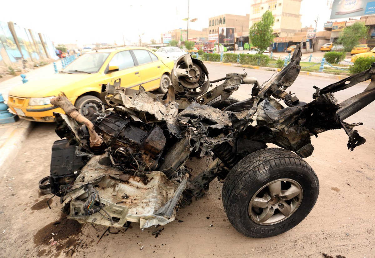 ISIS-claimed suicide bombings kill 35 in Iraq: Officials