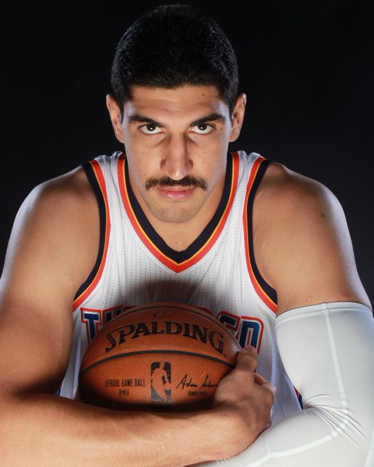 NBA reports Join us in wishing Enes_Kanter of the okcthunder a HAPPY 25th BIRTHDAY!