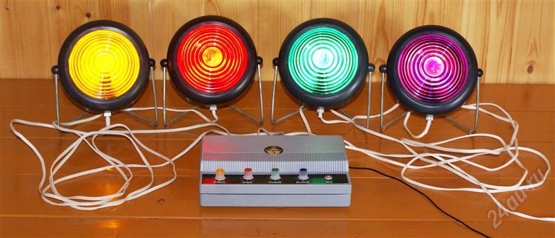 Как сделать прожекторы для цветомузыки