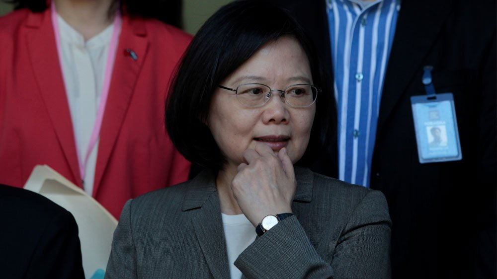 It's been a turbulent year in power for Tsai Ing-wen, Taiwan's first female president