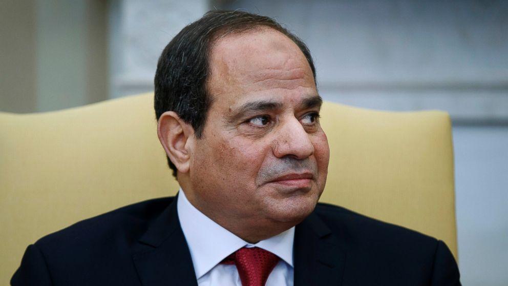 Food cart shut down? Turn to Egypt's president on live TV