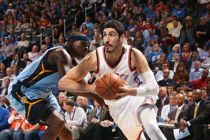 Happy birthday today to Enes Kanter!