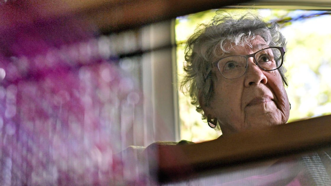 Missoula weaver embeds spiritual, personal messages into her work