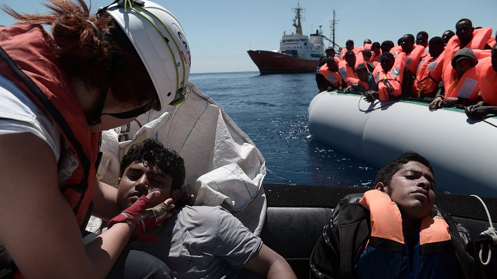 5,000 refugees rescued on route to Italy from Libya