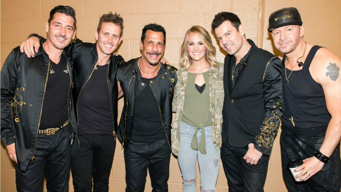 Carrie Underwood Geeks Out Over Singing Happy Birthday to NKOTB s Danny Wood and