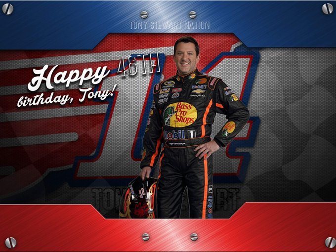 Join us in wishing our fearless leader, Tony Stewart, a very happy birthday!