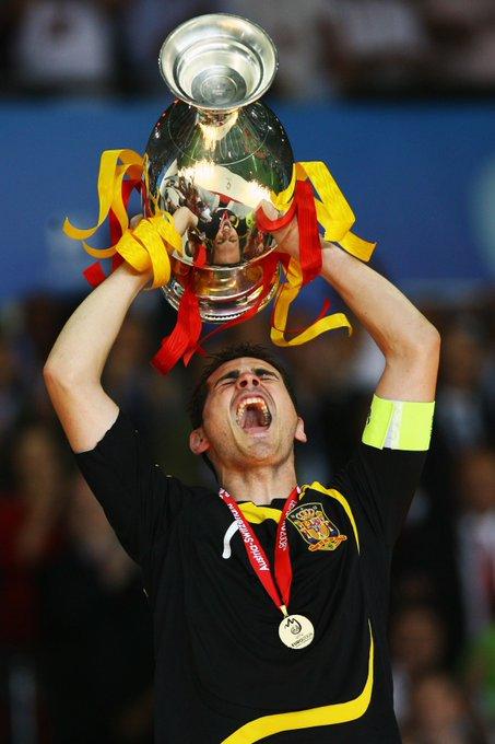 Happy birthday, Iker Casillas!   Two-time EURO winner  World champion Spain legend