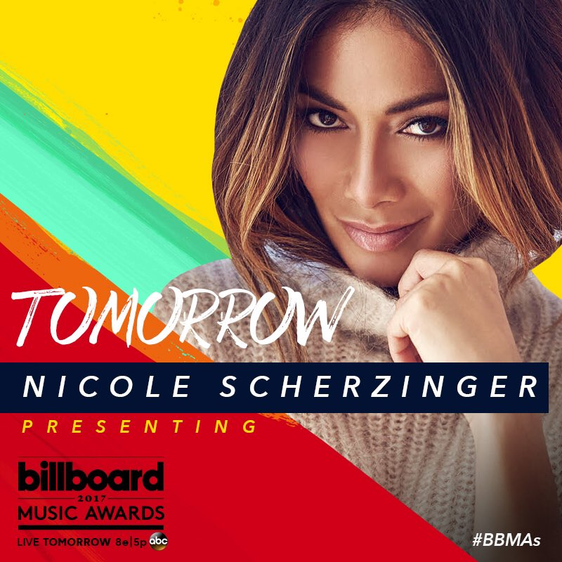 TOMORROW I'll be presenting at the @BBMAs! Tune in to the show on SUNDAY at 8e|5p on ABC. #BBMAs https://t.co/yCaOVfkH4u