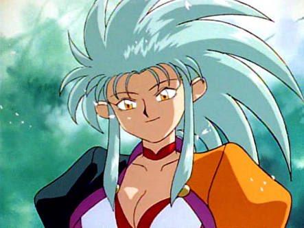 #あなたがオタクになったきっかけのキャラ天地無用!魎皇鬼(OVA)の魎呼と砂沙美かな(^_^;