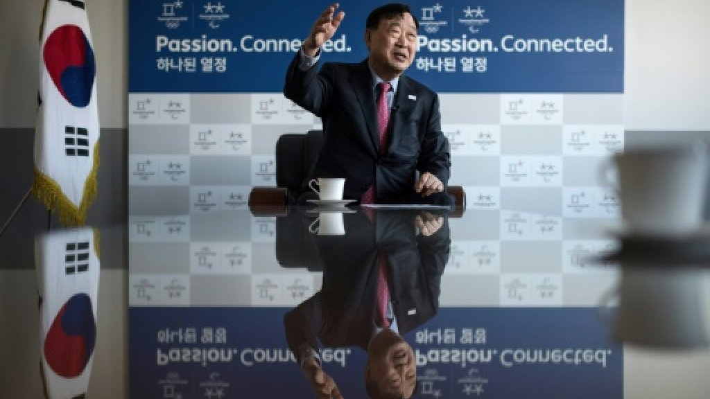 Olympics: Games chief shrugs off Korean tensions