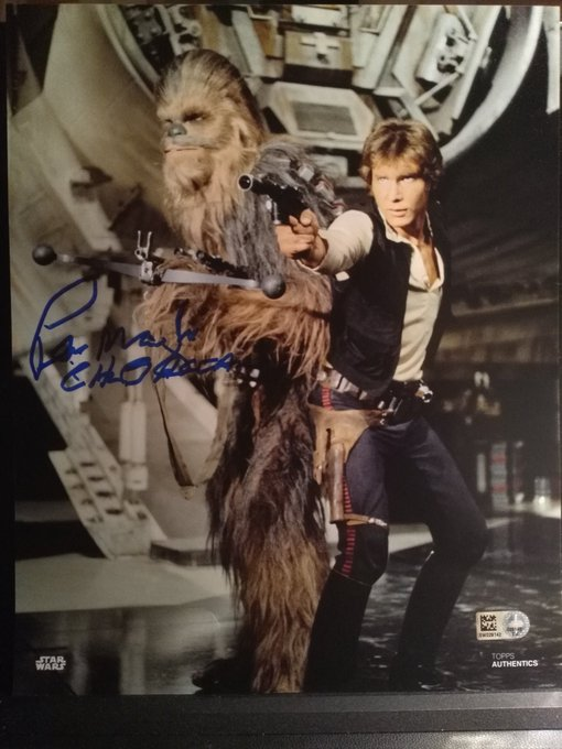 Happy birthday to the only one Chewbacca, Peter Mayhew ! It was a pleasure to met you at the